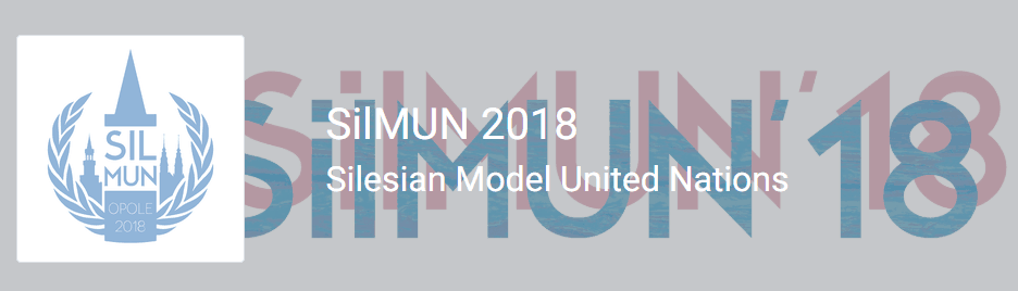 Prywatny: SilMUN 2018 Silesian Model United Nations