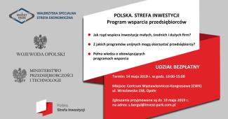 Prywatne: Polska. Strefa Inwestycji – spotkanie dla przedsiębiorców
