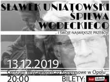 Prywatne: Sławek Uniatowski śpiewa Wodeckiego