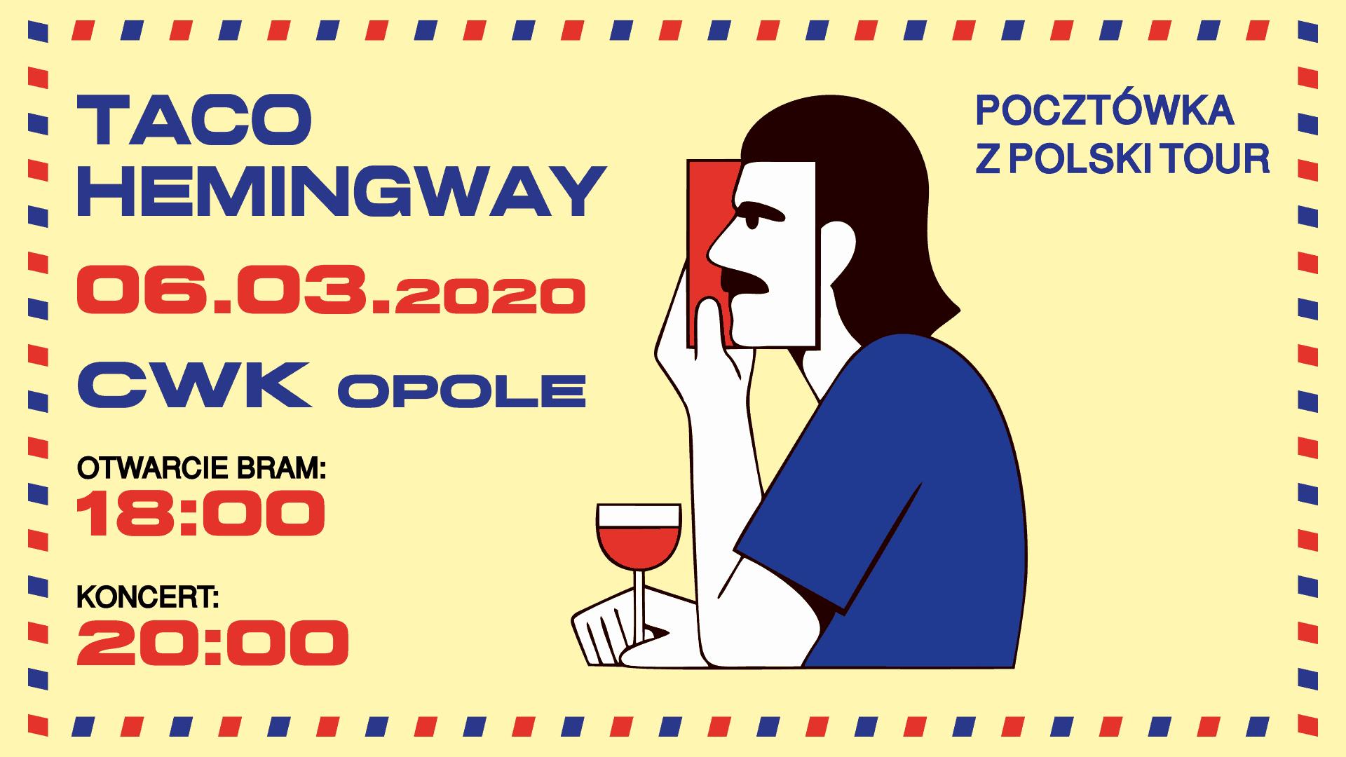 Prywatne: Taco Hemingway – Opole – Pocztówka z Polski